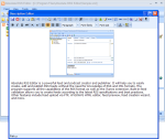 HTML description editor